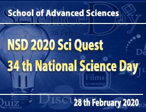 NSD 2020 – Sci Quest 34th National Science Day