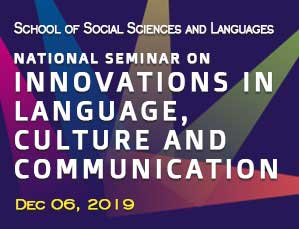 National Seminar on Innovations in Language, Culture and Communication