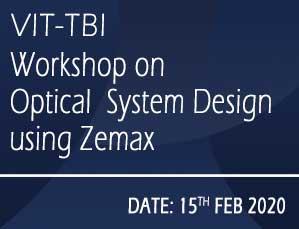 Workshop on Optical  System Design using  Zemax