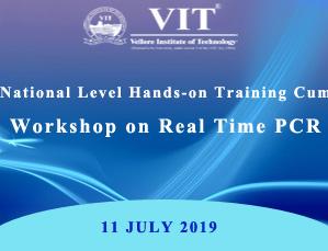 NATIONAL LEVEL HANDS-ON TRAINING CUM WORKSHOP ON REAL TIME PCR
