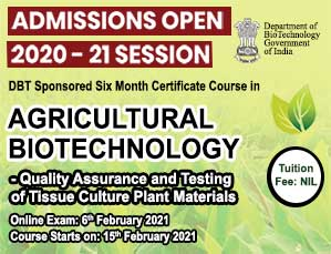 Agricultural Biotechnology Quality Assurance and Testing of Tissue Culture Plant Materials