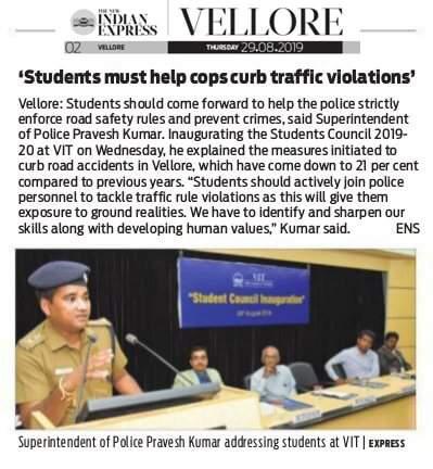 VIT Student Council Inauguration - 2019