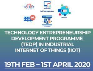 Technology Entrepreneurship Development Programme (Industrial Internet Of Things (IIot)