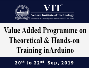 Value Added Programme on Theoretical and Hands-on Training in Arduino