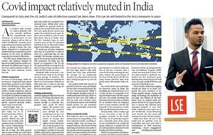 An article published by The Hindu Business line is co-authored by VIT alumnus and NITI Aayog's