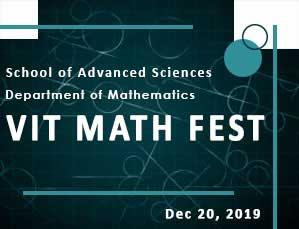 VIT MATH FEST 2019