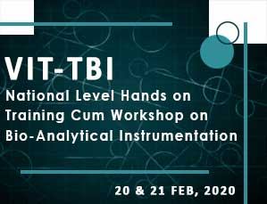 National Level Hands on Training Cum Workshop on Bio-Analytical Instrumentation