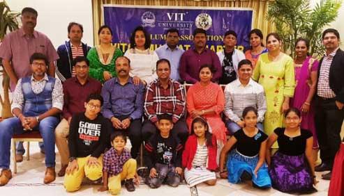 VITAA Muscat Chapter Alumni Members Dinner Gathering