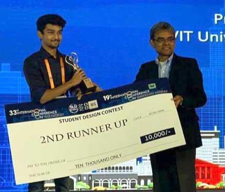 VLSID2020 - 2nd runner-up in VLSI design contest