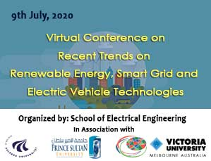 Virtual Conference on Recent Trends on Renewable Energy, Smart Grid and Electric Vehicle Technologies