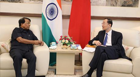 Chancellor of VIT met with Ambassador Sun Weidong