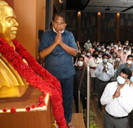 113th birth anniversary of Shri C.N. Annadurai and 162nd birth anniversary of Shri M. Visvesvaraya