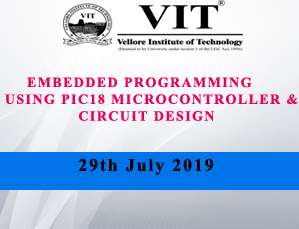 EMBEDDED PROGRAMMING USING PIC18 MICROCONTROLLER & CIRCUIT DESIGN