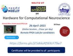 Online Internship Training Program  On Hardware for Computational Neuroscience