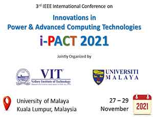 Innovations in Power and Advanced Computing Technologies, i-PACT2021