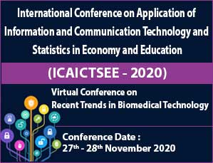 International Conference on Application of Information and Communication Technology and Statistics in Economy and Education (ICAICTSEE - 2020)