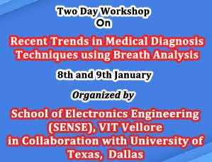 Two Day Workshop On Recent Trends in Medical Diagnosis Techniques using Breath Analysis