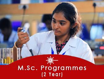 M.Sc 2 year Programme
