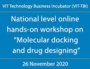 "National level online hands-on workshop on ""Molecular docking and drug designing"""