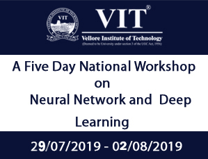 A Five Day National Workshop on Neural Network and Deep Learning