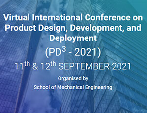 Virtual International Conference on PRODUCT DESIGN, DEVELOPMENT, AND DEPLOYMENT 2021