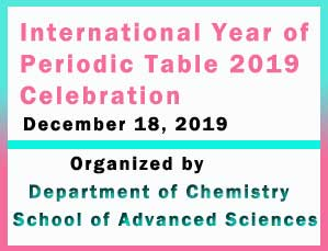 International Year of Periodic Table 2019 Celebration
