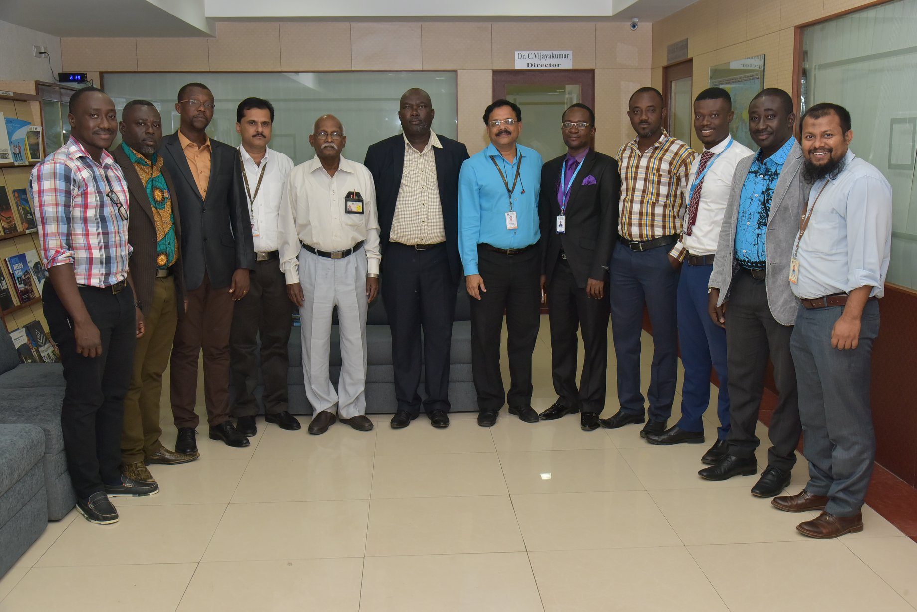 Ph.D candidates from Ghana