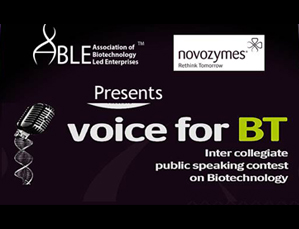 Voice for Biotechnology