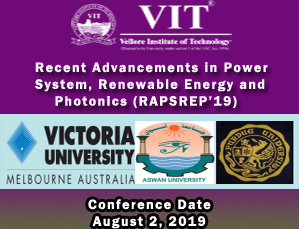 Recent Advancements in Power System, Renewable Energy and Photonics (RAPSREP'19)