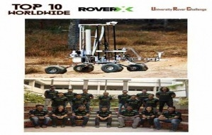 Team RoverX from Creation labs of VIT Vellore has achieved a new milestone this year by scoring 90.36 in its System Acceptance Review (SAR)