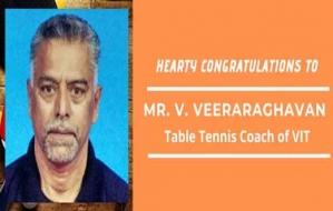 Hearty Congratulations to Mr. V. Veeraraghavan for winning Bronze Medal
