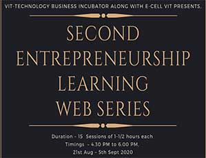 SECOND ENTREPRENEURSHIP LEARNING WEB SERIES