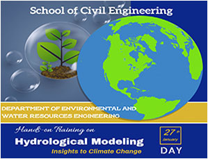 Virtual Hands-On Training on Hydrological Modeling of Watersheds - With Insights to Climate Change